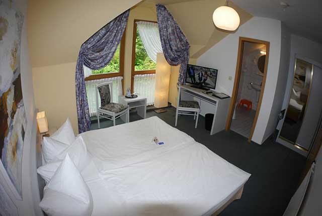 Doppelzimmer Berghotel Rosstrappe