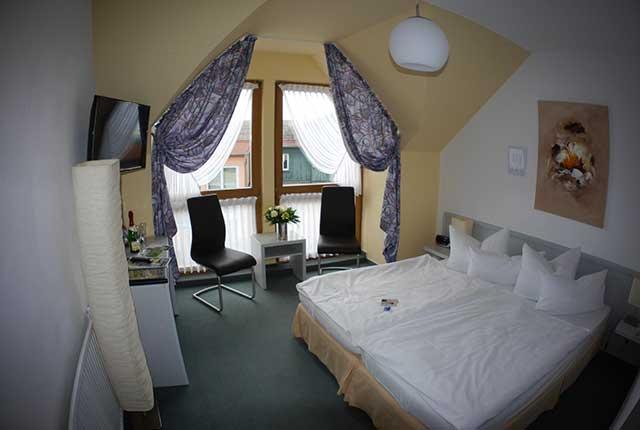 Doppelzimmer Berghotel Rosstrappe 2