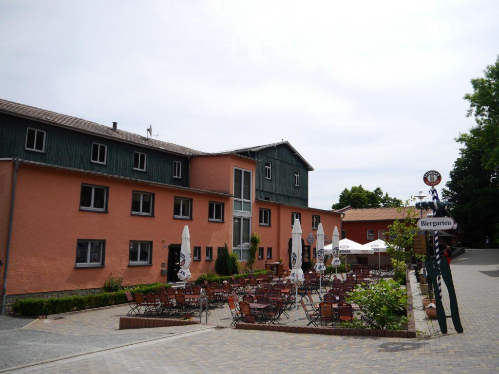 Biergarten Hotel Rosstrappe