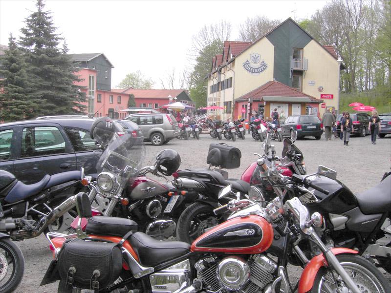 Motorradtreffen auf der Rosstrappe