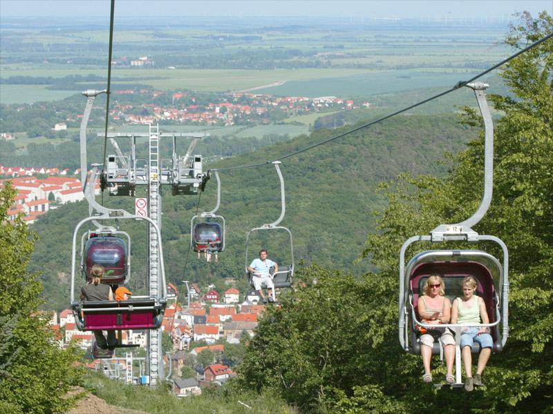Seilbahn Thale Erlebniswelt Akzent Berghotel Rosstrappe