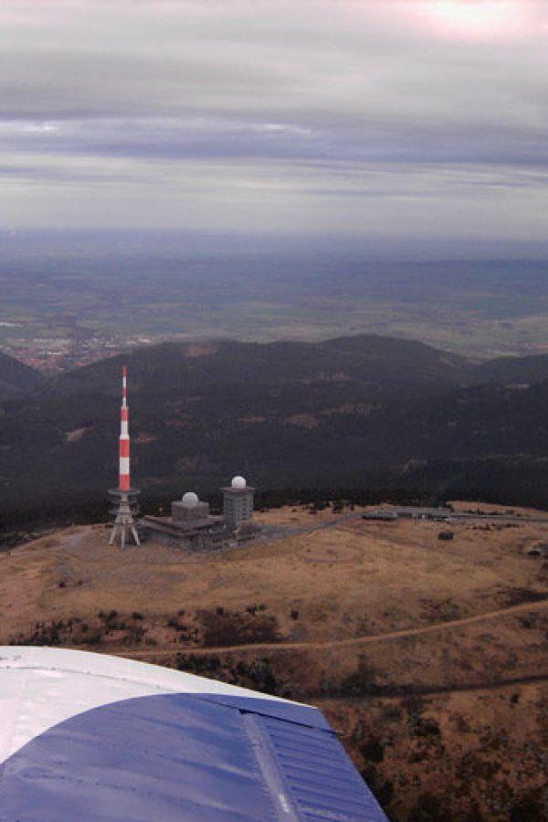 Luftaufnahme vom Brocken 2
