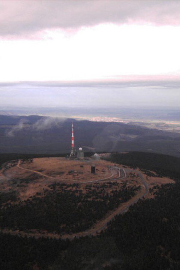 Luftaufnahme vom Brocken